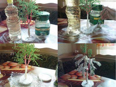 berezka-shag-6 Деревья из бисера своими руками
