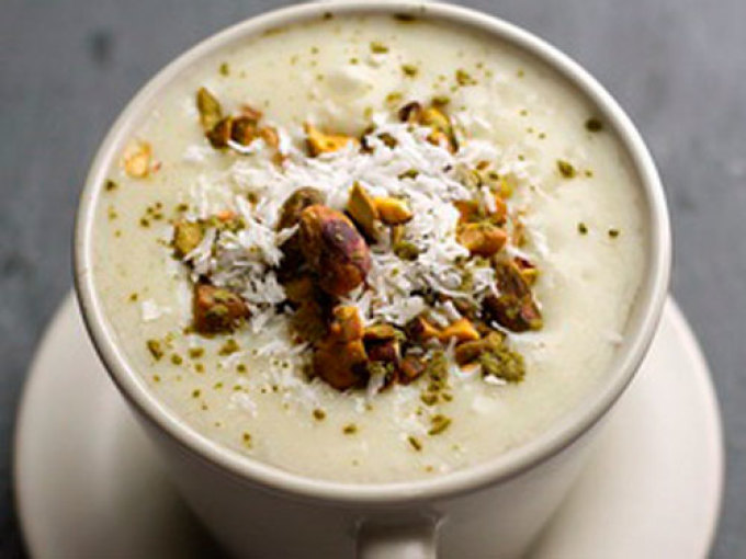 Молочный кисель-пудинг по-арабски