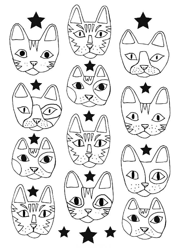 картинки которые можно распечатать на принтере кот любые ботильоны туфли