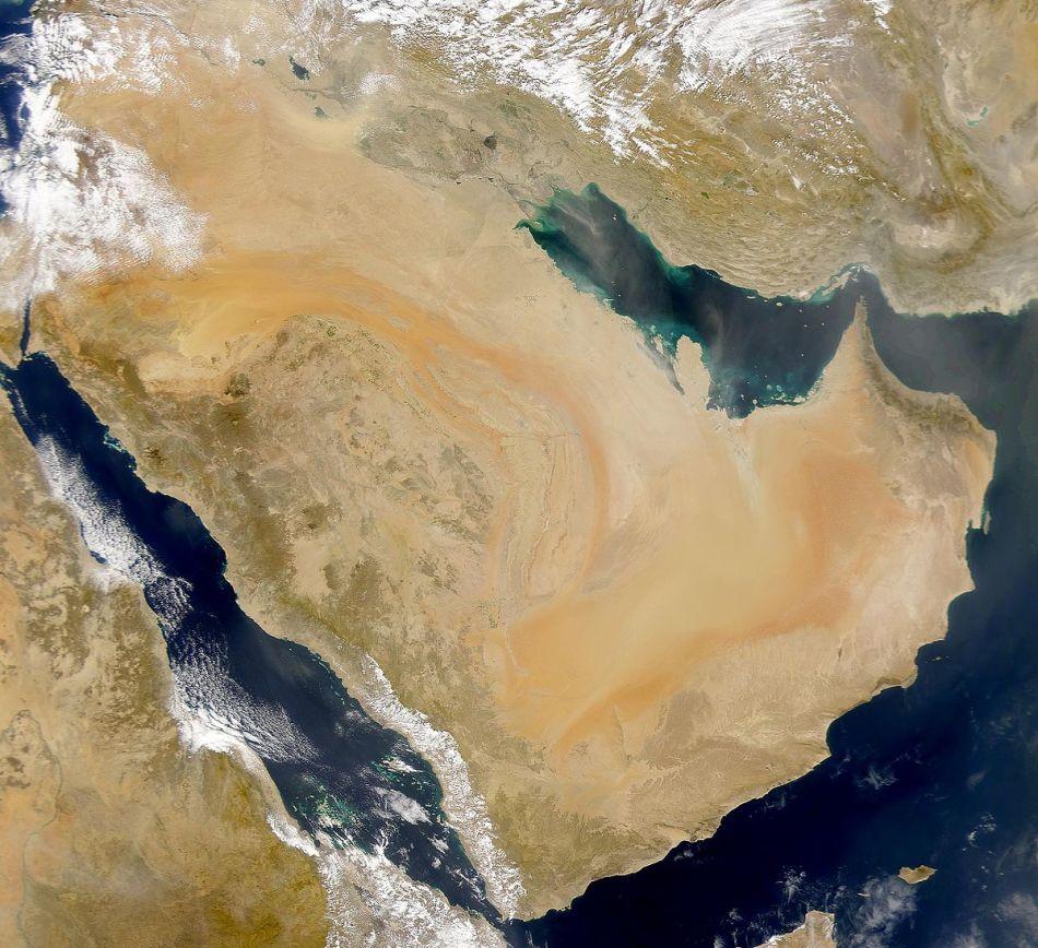 хотелось фото карта араб спутник фото