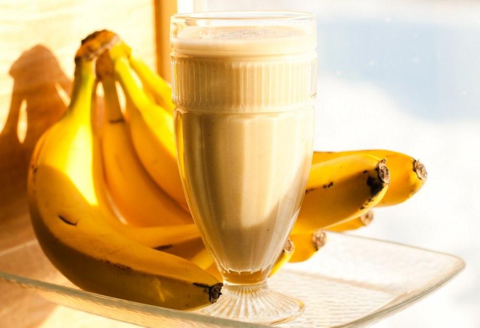 Коктейли для банановой диеты