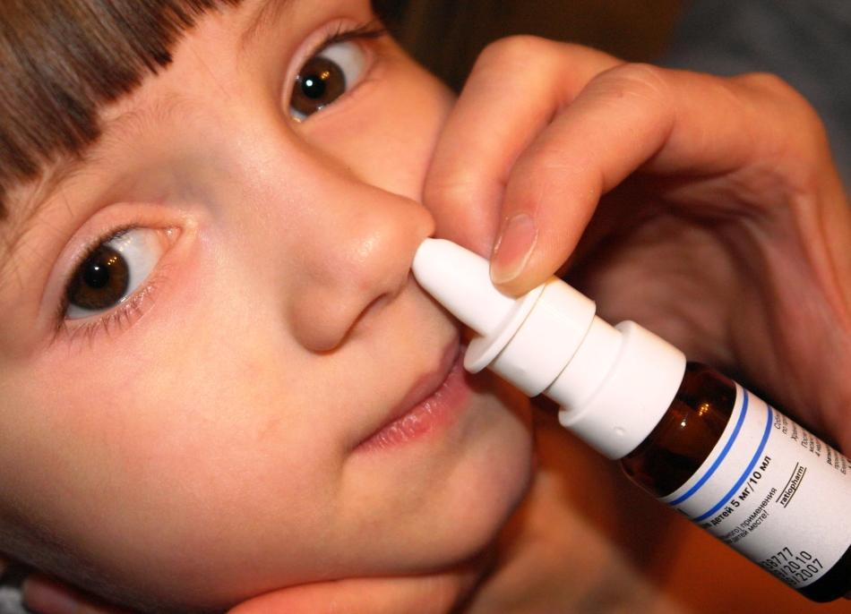 Применение назального спрея для профилактики гриппа