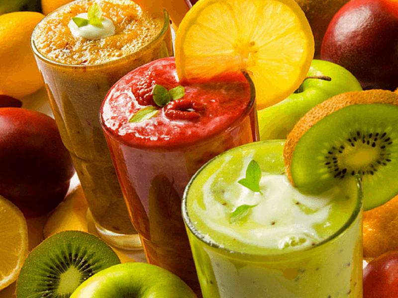 Свежевыжатый сок - основа соковой диеты
