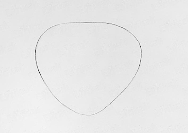 figura-dolzhna-napominat-serdechko Как рисовать сову карандашом поэтапно для начинающих и детей? Как рисовать по клеточкам сову, красками?