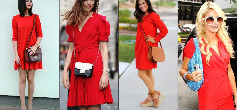 57c3b72f1dbe С чем сочетать красное платье, с чем носить? Какого цвета колготки ...