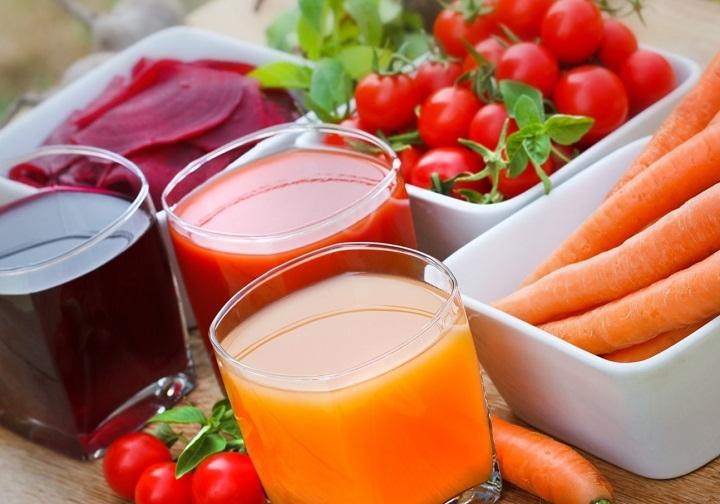 3 цвета овощей и фруктов для пользы текучести крови