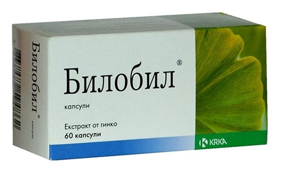 Билобил- растительный препарат для памяти