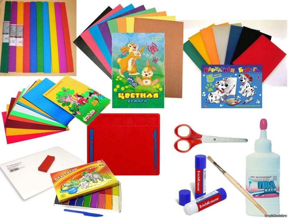materiali-dlya-applikacii Аппликации из цветной бумаги шаблоны распечатать для детей 2-3, 4-5, 6-7 лет. Фото. тема осень, зима, весна