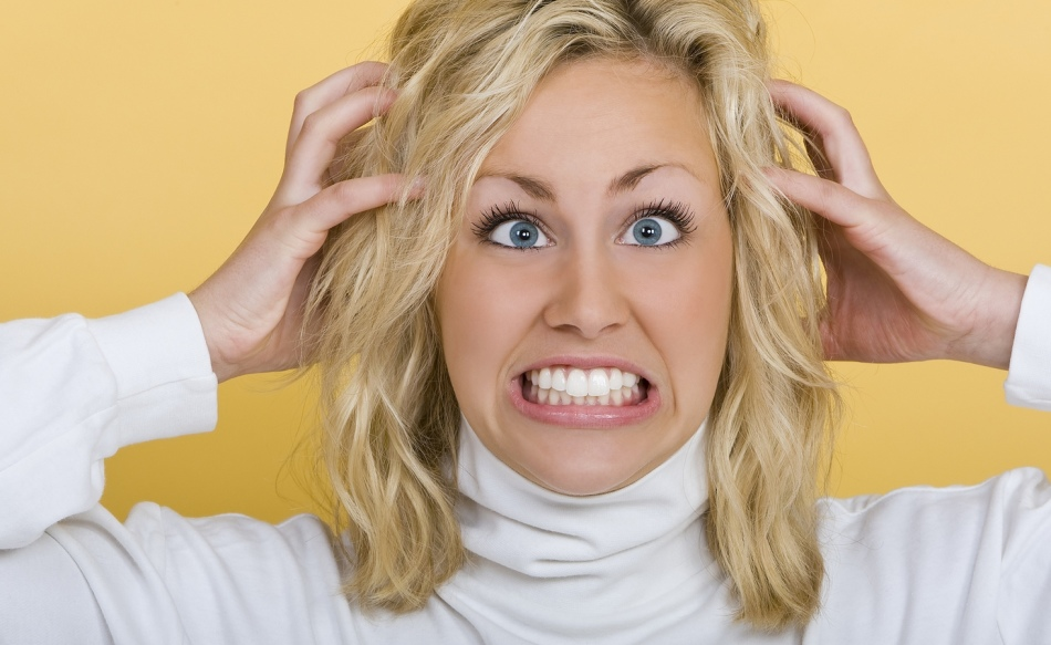 Зуд может возникнуть из-за аллергии на краску для волос