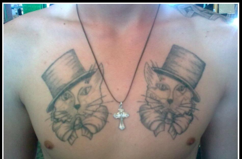 Что означает татуировки кот