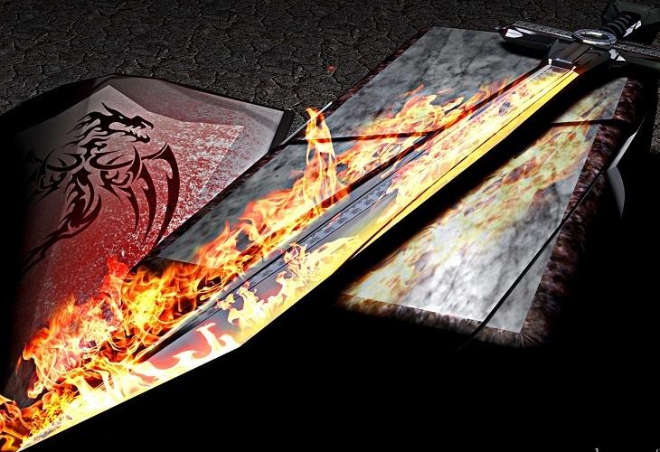 картинки пылающий меч надеется отыскать там