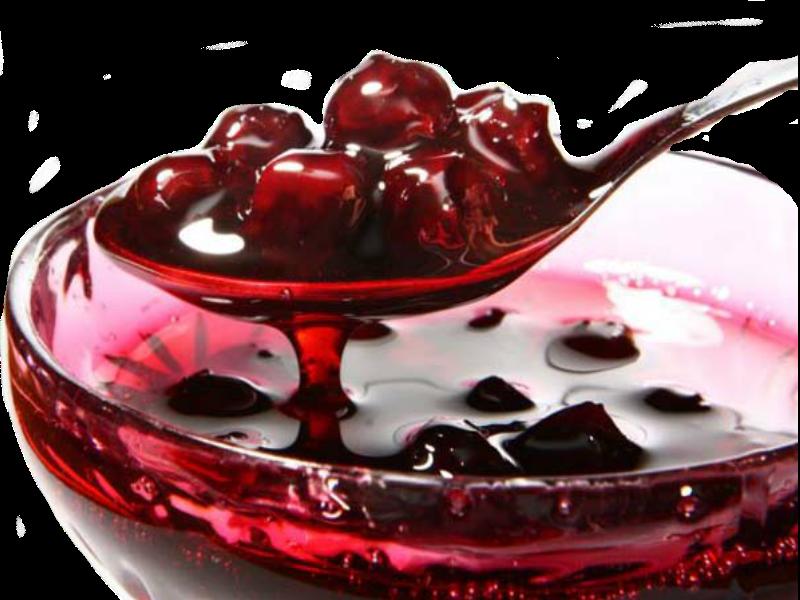 Даже за 5 минут можно сварить вкусный вишневый десерт