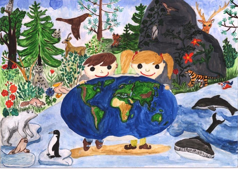 фарфор рисунок на тему зеленая планета картинки множественных кондилом