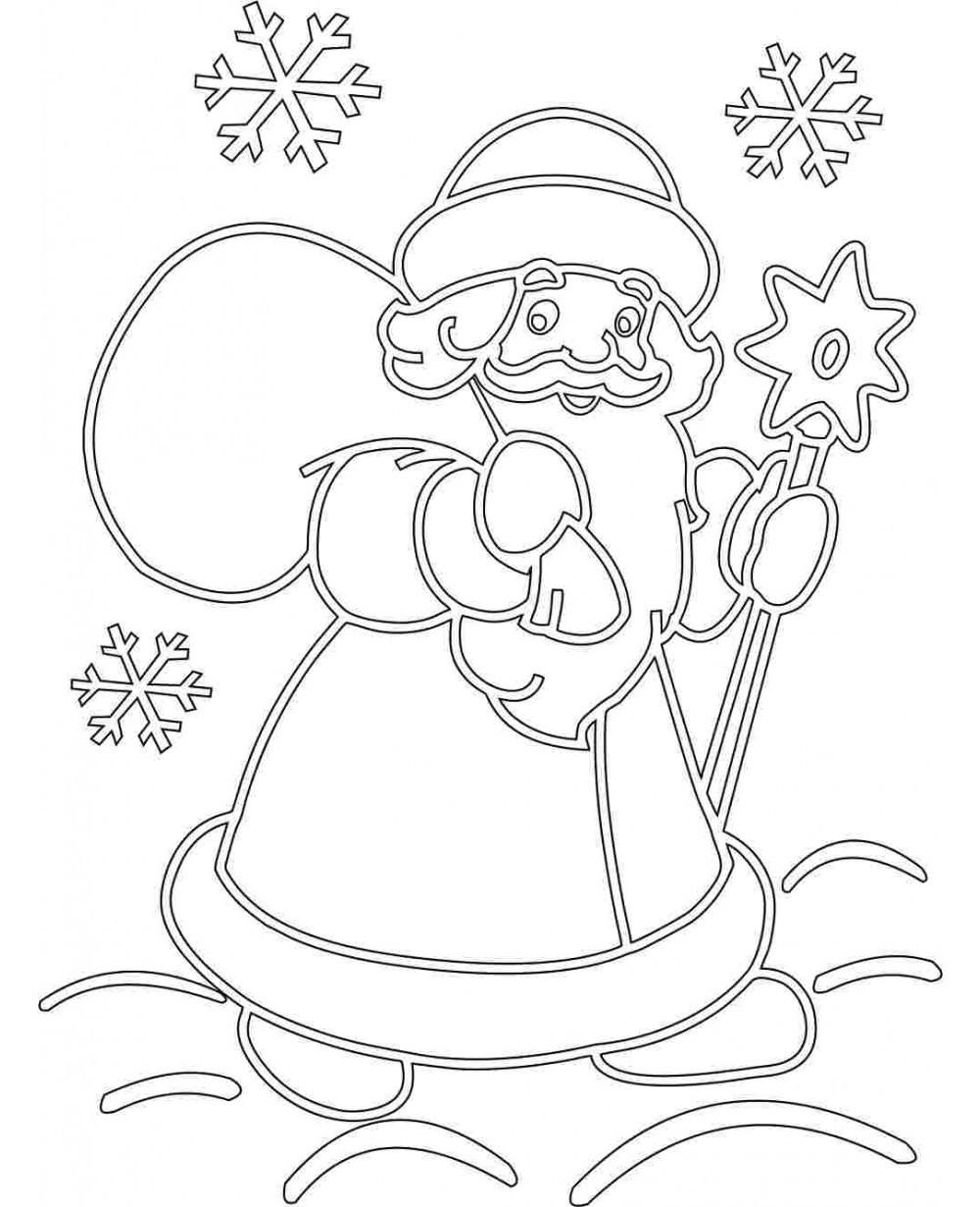 Рисунки из бумаги на окна к новому году трафареты
