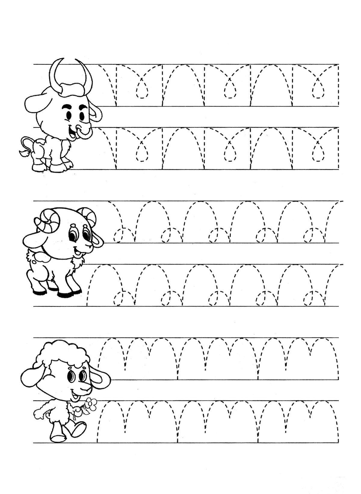 Картинки пропись для дошкольников
