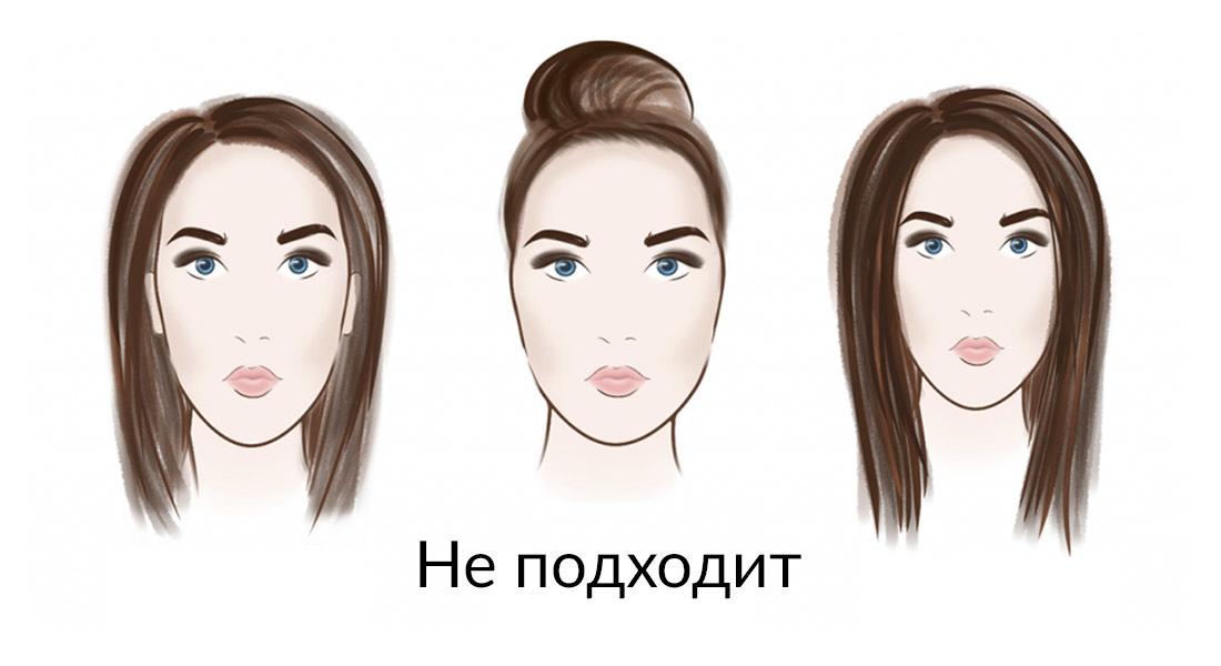 картинки прически по овалу лица