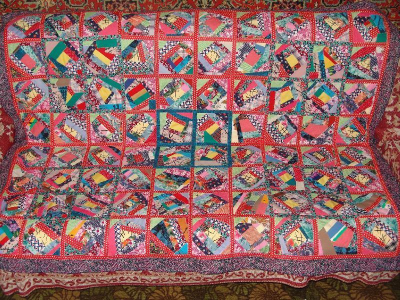 56255d0ee794ce7cf57d994a0277e44a Мастер-класс: Шьем лоскутное одеяло в стиле пэчворк