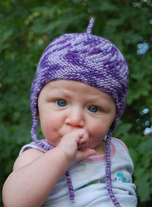 шапка спицами для мальчика на весну осень зиму описание и схема