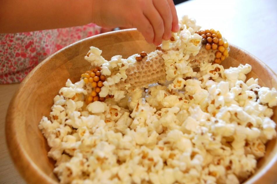 Сладкий попкорн в домашних условиях