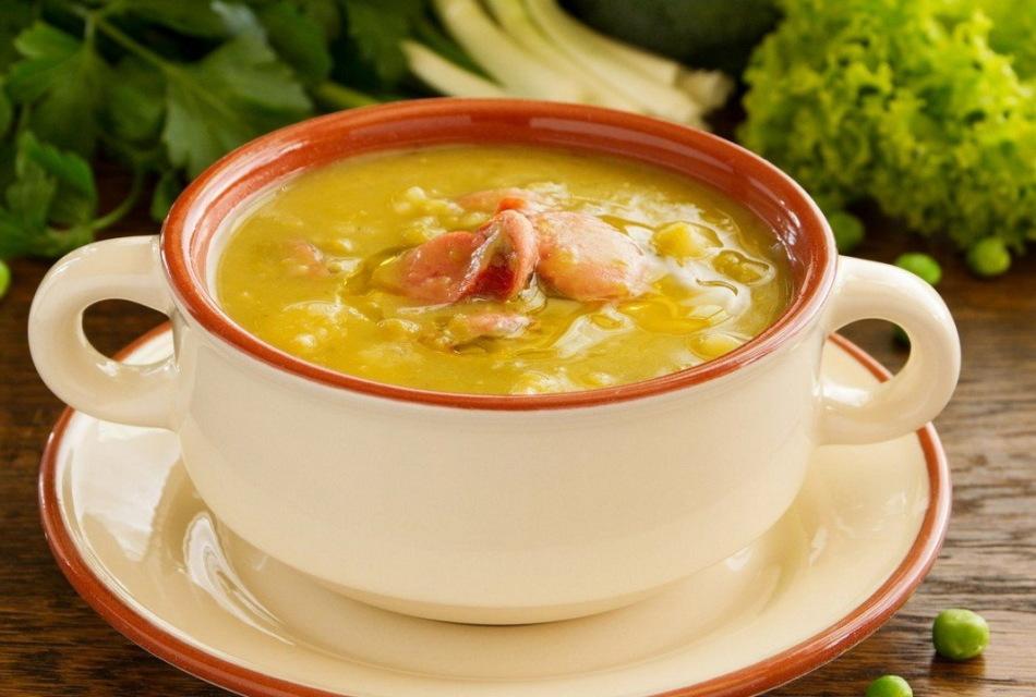 Заправка для горохового супа