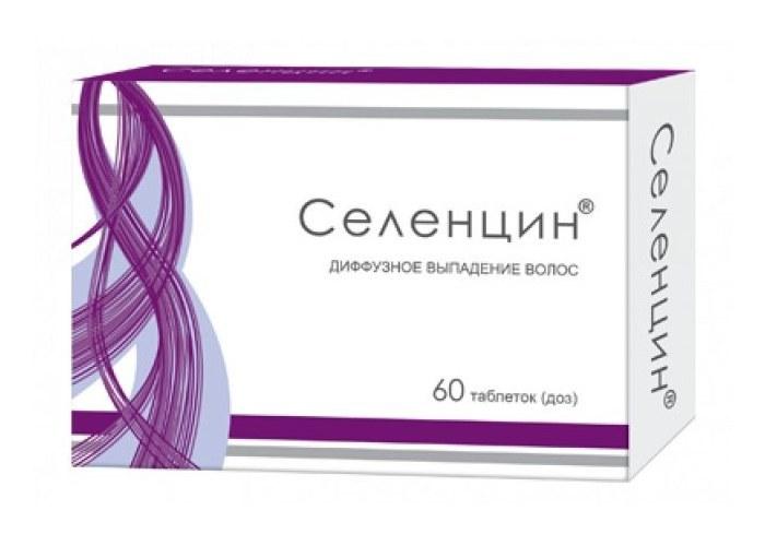 Эффективность таблеток селецин от выпадения волос