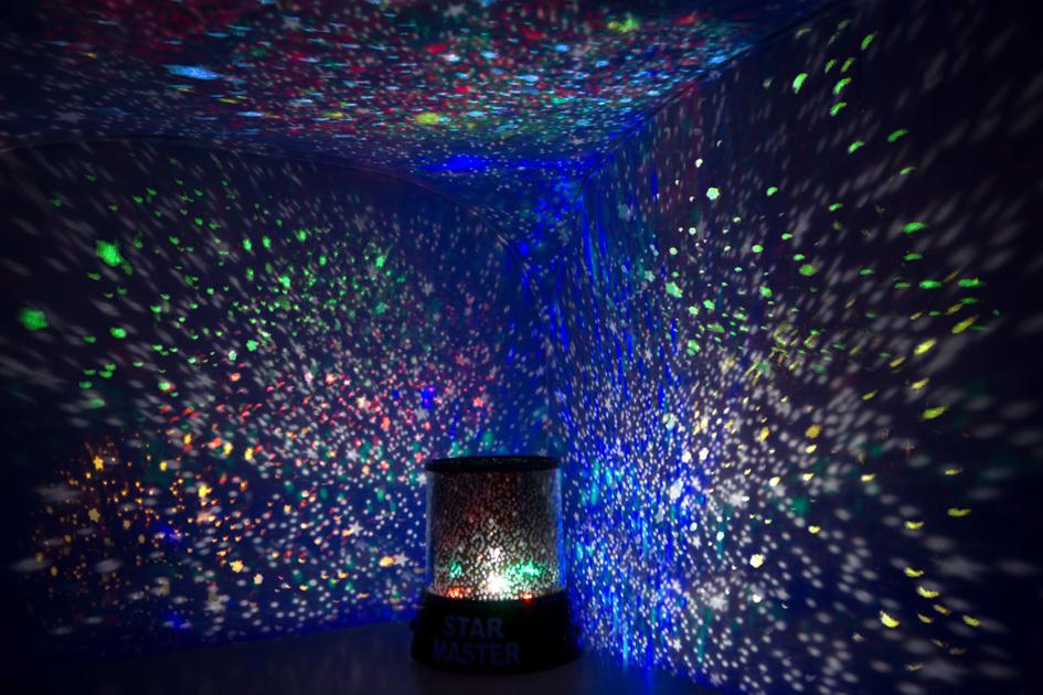 Проектор звездного неба - необычный и умиротворяющий подарок для девушки