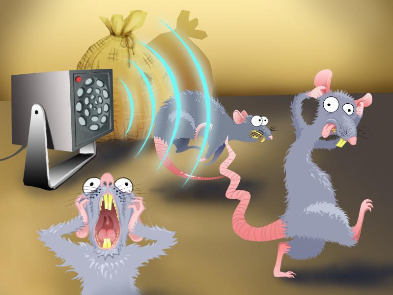 Отпугиватели мышей