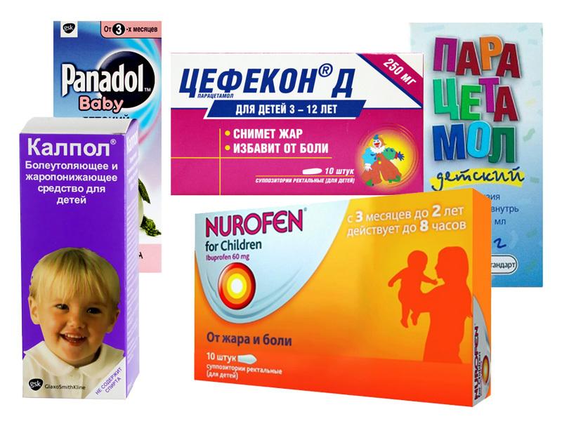 Лекарственные формы парацетамола