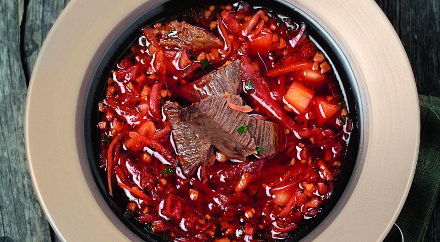 Как приготовить борщ с бараниной рецепт #2