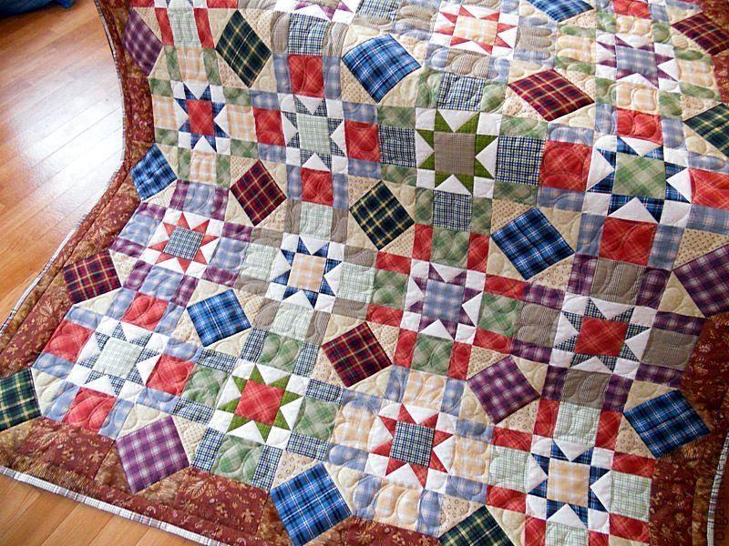 5c2da38fe836663643cf09f18ea09021 Мастер-класс: Шьем лоскутное одеяло в стиле пэчворк
