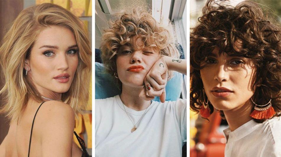 sheggi-na-kudryah Красивые стрижки на средние волосы 2019-2020, фото, идеи стрижки на средние волосы