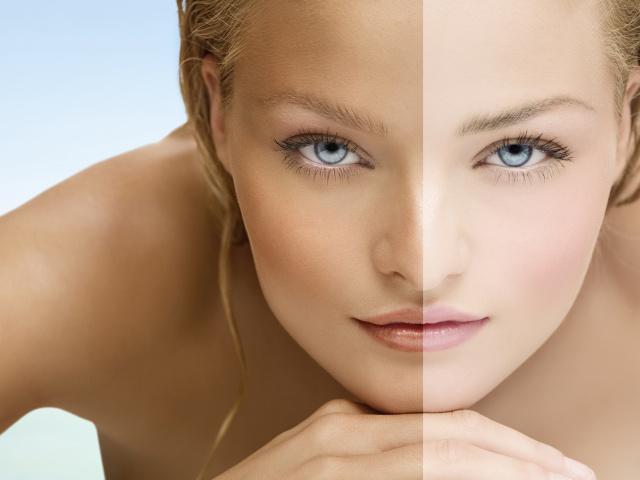 Как сделать кожу посветлей