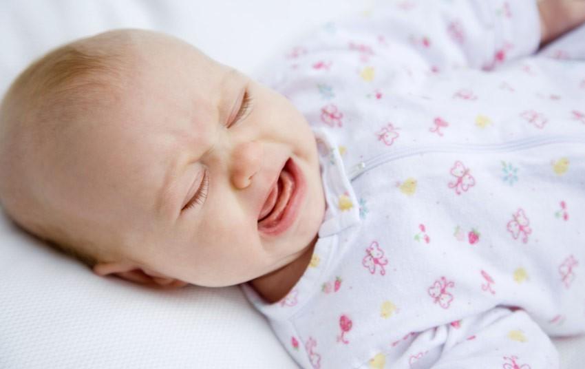 Детский плач во сне