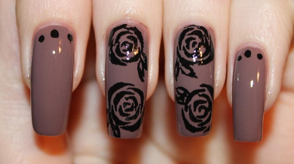 Гель лак картинки маникюра с розами