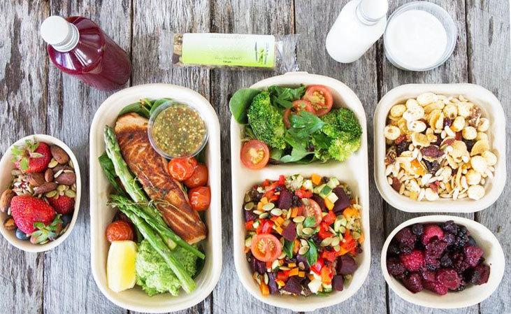 Разделяйте продукты на каждый прием пищи