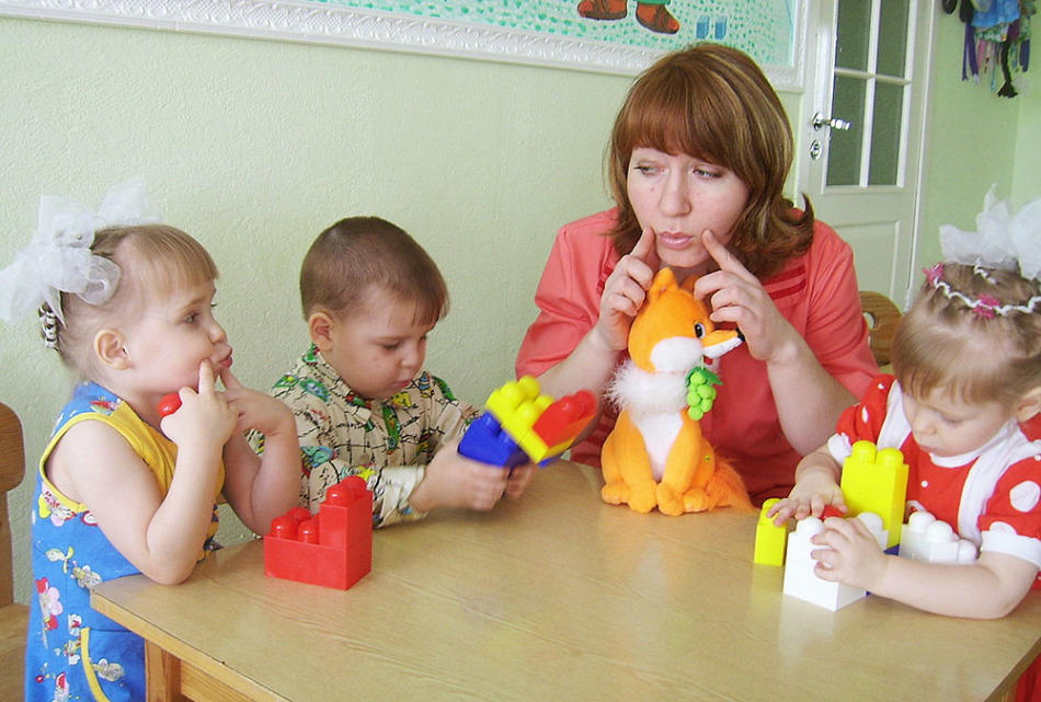Развивающие занятия с малышами 3-х лет