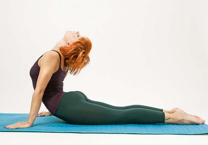 Выгибание помогает устранить застой в мышцах