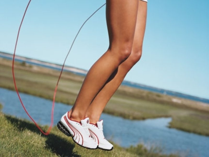 Упражнения Со Скакалкой Для Похудения Ног. Прыжки на скакалке для похудения