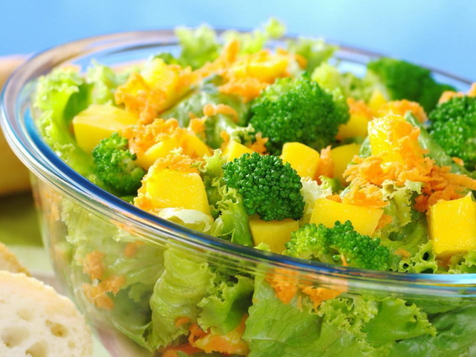 Пример салата с {amp}quot;отрицательной{amp}quot; калорийностью