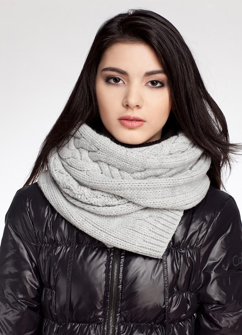 как носить шарф на куртке фото макет танцовщицы