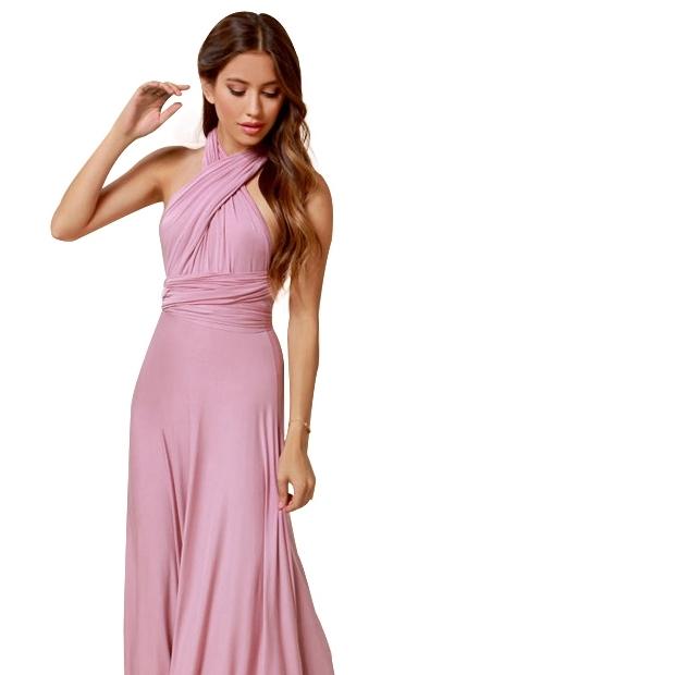kak-zavyazivat-plate-transformer---krest-nakrest Платье трансформер: варианты вечерних платьев. Как сшить платье со съемной юбкой своими руками?