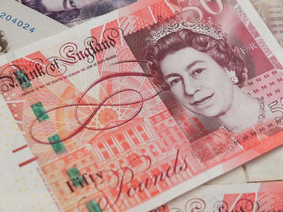 Так выглядит классическая британская валюта - фунт стерлингов