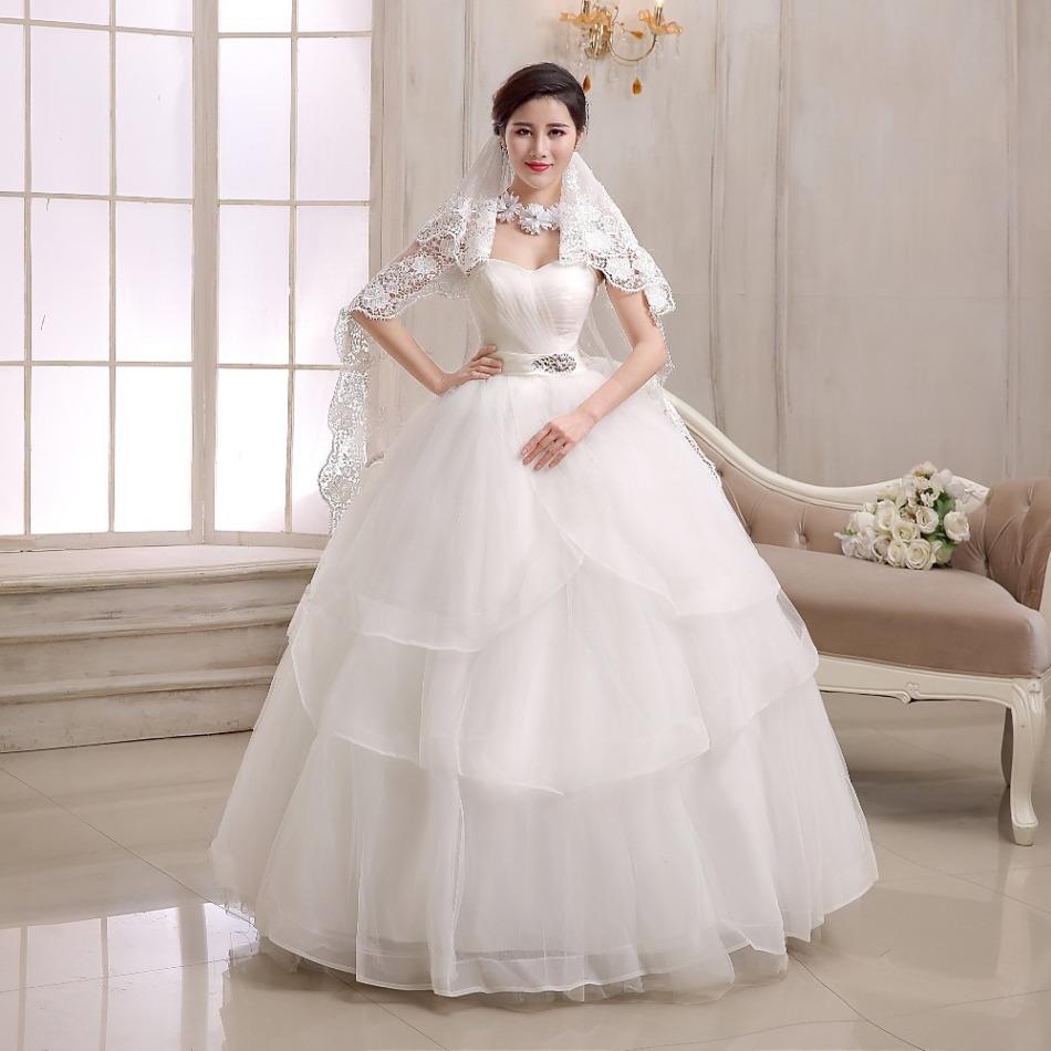 Наряд невесты для процесса венчания