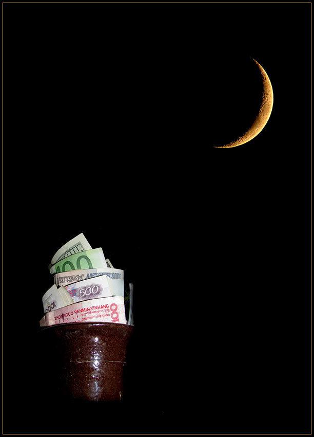 Приметы на новолуние к деньгам