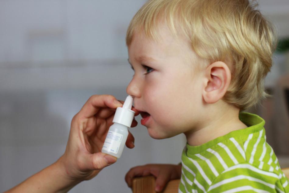 Средства для снятия заложенности носа у детей