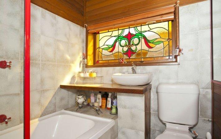Современное оформление ванной в хрущевке