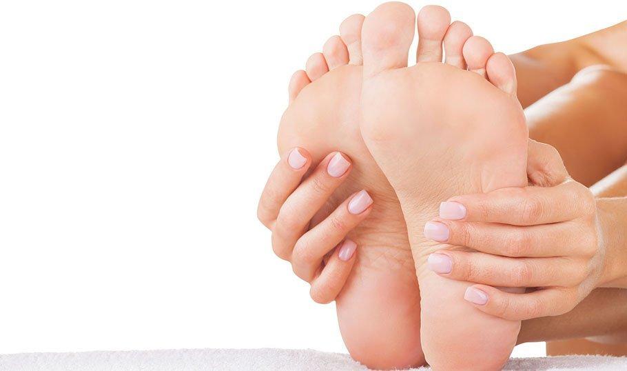 Смягчаем ноги