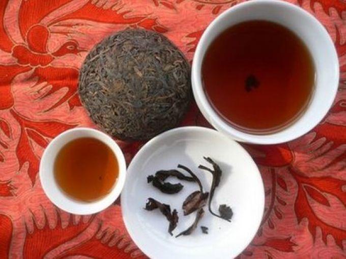 Чай пуэр имеет полезные свойства