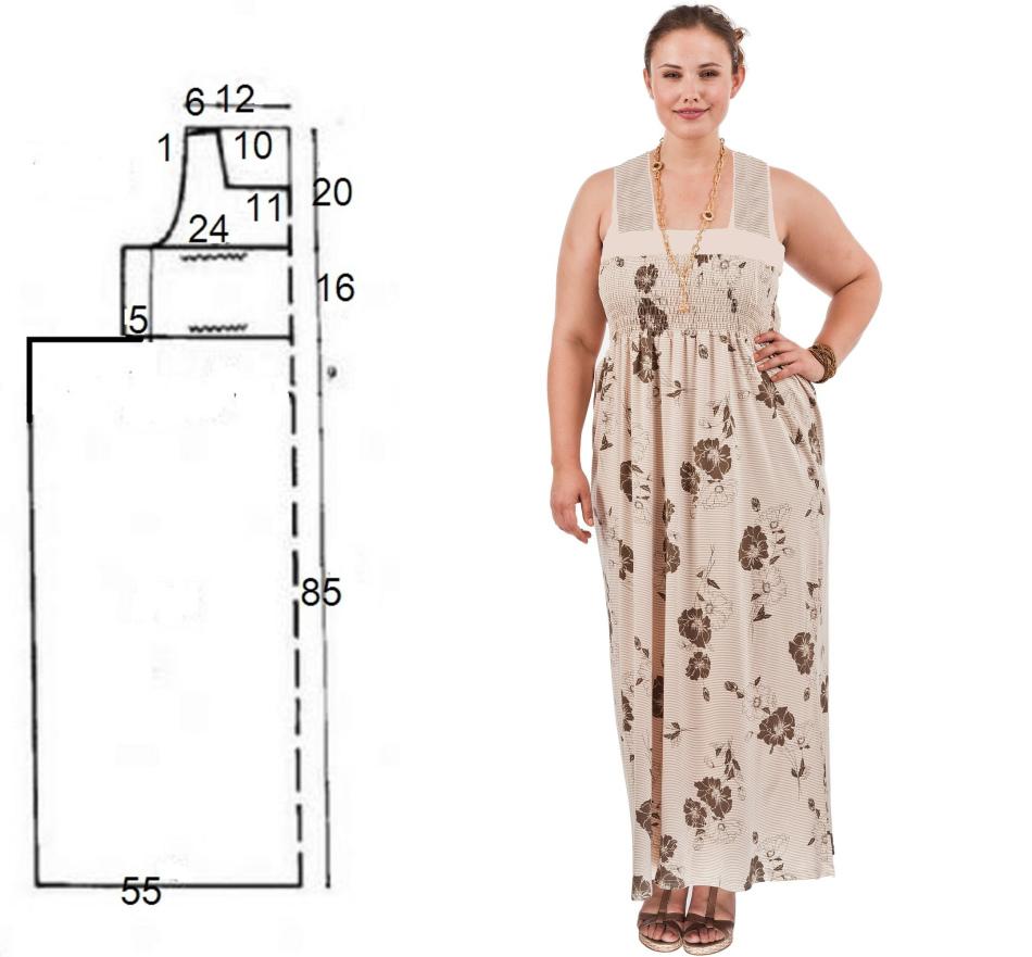 Ситцевое платье своими руками фото 338