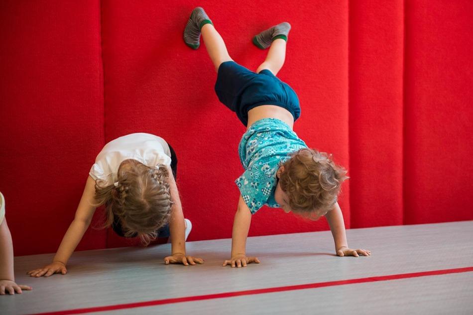 Спортивная гимнастика для детей 3-х лет